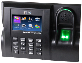 دستگاه حضور و غیاب F560
